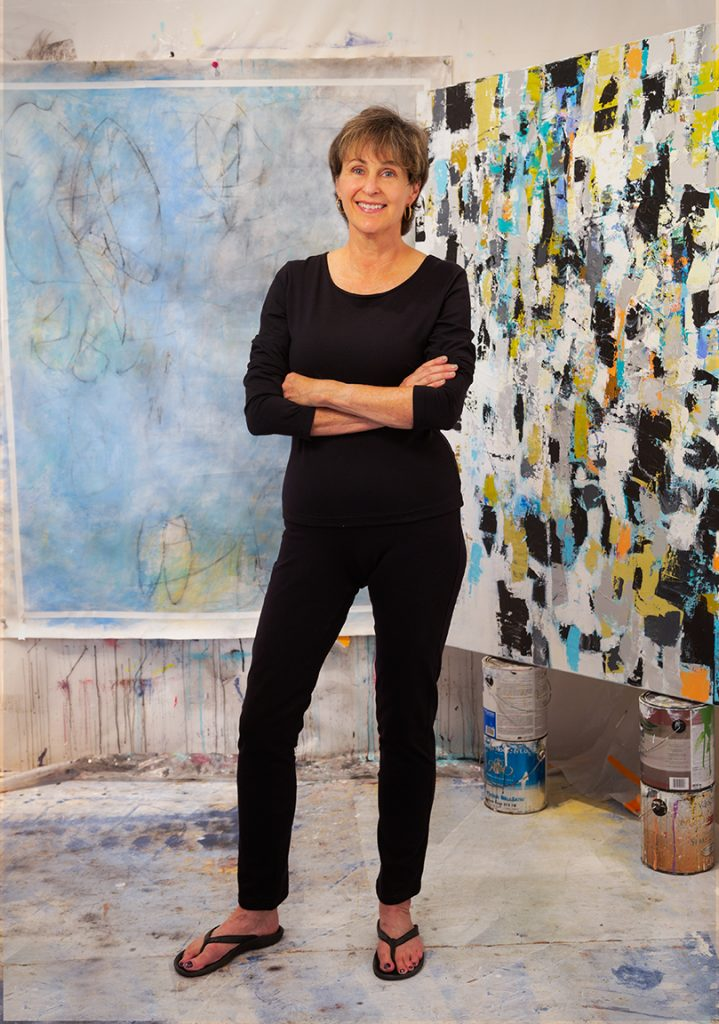 Julie Schumer artist at Parkway Art Space