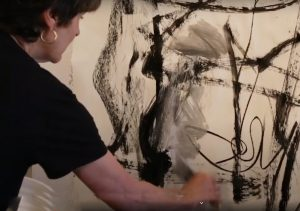 dive into abstract painting with julie schumer